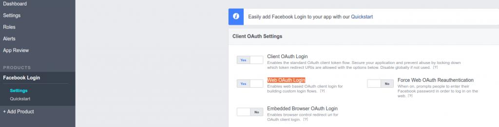 Facebook Login - Connection error - Siberian CMS
