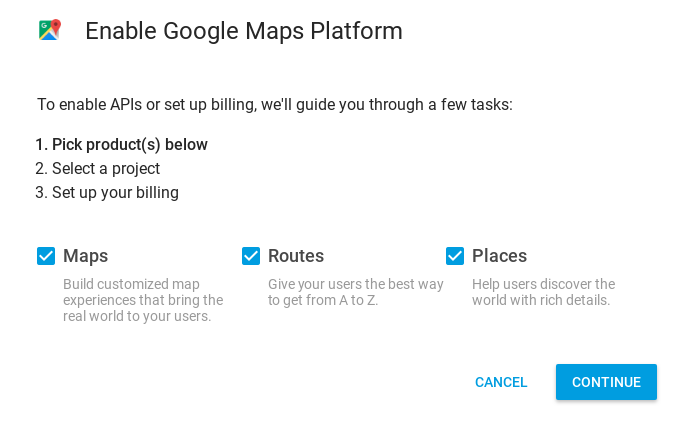 How to get my google maps api key