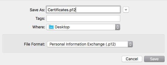 Screen Shot 2018 08 06 at 17.12.46 - Gerando certificado para envio de push IOS | .pem