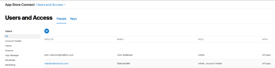 Overview of application publishing - Siberian CMS